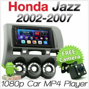 Android Car Radio For Honda Jazz Fit GD Stereo Head Unit MP3 Player Fascia Kit A