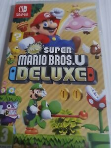 Super Mario Bros. U Deluxe _ Nintendo Switch _ VF _ ETAT NEUF