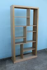 local made tassie oak hardwood timber bookcase room divider 2000/1000