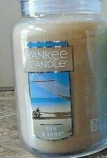 Yankee Candle    Sun & Sand  22 oz.  NEW   Free Ship 1st Quality