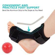 Foot Drop Ankle Night Splint Support + Massage Ball for Plantar Fasciitis Dorsal