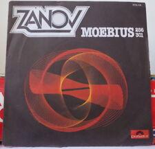 "ZANOV MOEBIUS 256/301 ELECTRO PROMO 7"" FRENCH SP POLYDOR 1977"