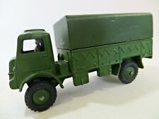 DINKY 623 'BEDFORD QL ARMY COVERED WAGON' ARMY/MILITARY. VINTAGE. COMPLETE. VGC.