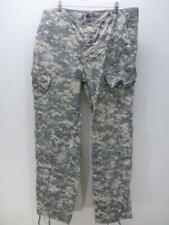 BDU Army Air Force Combat Uniform trouser camo Cargo Pants mens sz Large Long