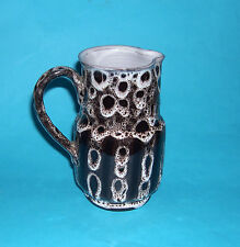 St Mary Church Ltd Studio Pottery Torquay- Unusual Design Medium Jug 14.5cm Tall