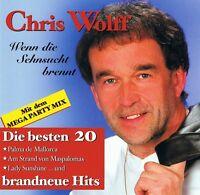 Chris Wolff - Wenn die Sehnsucht Brennt - CD Album NEU - Hits Beste