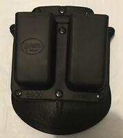 Fobus Double Magazine Paddle Pouch - Glock, H&K USP 9mm/.40 - 6900