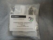 Commander 112 / 114. Stainless Steel Hardware Kit. (770 Pcs)