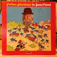 [CHILDREN/KIDDIE BREAKS]~EXC LP~The SMURFS~Father Abraham In Smurfland~{CANADA}