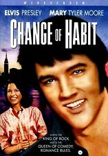NEW DVD- CHANGE OF  HABIT - ELVIS PRESLEY , MARY TYLER MOORE, 1969 COMEDYCLASSIC