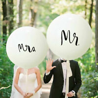 Latex Helium Mr and Mrs Balloons Wedding Anniversary Party Balloons Decoration