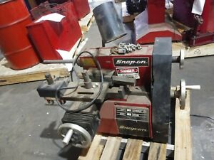 Snap On Tools Model 102 Disc & Drum Brake Lathe w/ Bench, Tooling & Accessories