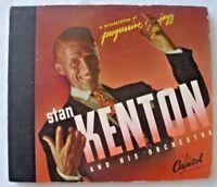 "Stan Kenton And His Orchestra-- progressive jazz (10"", 4 LP's) Capitol Records!"