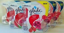 10 Glade Plugins Blooming Peony & Cherry Scented Oil Refill Spring Summer 5 Pack