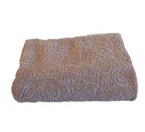 RALPH LAUREN Home Pink Jacquard Paisley Bath Towel