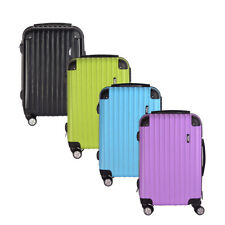 "28"" Large Size Hard Shell 4 Wheels Luggage Spinner Travel Business Suitcase"
