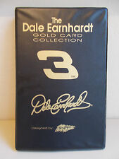 The Dale Earnhardt Gold Card Collection by Sam Bass Binder With All 12 22K Cards