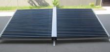 Solar water heater, all glass 50 tube ETC evacuated tube. 3.5kW, 12,000BTU