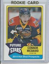 2014 Connor McDavid Hot Shot Prospects Future Stars Rookie RC (Erie Otters) Mint