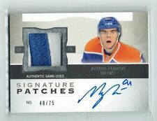 12-13 UD The Cup Signature Patches  Magnus Paajarvi  /75  Auto  Patch