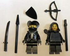 2 X NEW LEGO Bandits Robbers Highwaymen Thieves Minifigures Figs Castle Lot 26