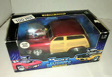 1/18 Diecast 2001 Muscle Machine 1959 Ford Woody station Wagon Too Cool Model
