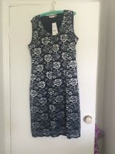 Millers Size 20 Blue And Silver Lace Dress Size 20 Nwts