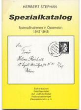 Spezialkatalog Notmaßnahmen in Österreich 1945-1948
