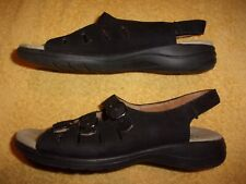 Clarks COLLECTION BLACK SANDALS WOMEN'S SIZE: 9 M