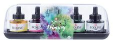 Talens Ecoline Liquid Watercolour Ink Primary Colours Set 5 x 30ml