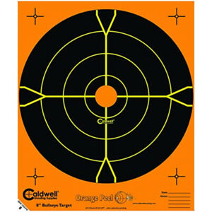 Caldwell 405515 Orange Peel 4 In Bulls-Eye: 5 Sheets