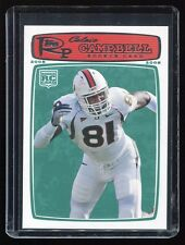2008 Topps Rookie Progression #173 Calais Campbell RC (Miami & Cardinals)