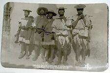 RPPC MF Grupo de Chamulas y Huixtecos TARJETA POSTAL Mexico