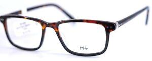 M+ 3006 TTBKG Tortoise Black Rectangular Full Rim Eyeglasses Frames 52-18-150