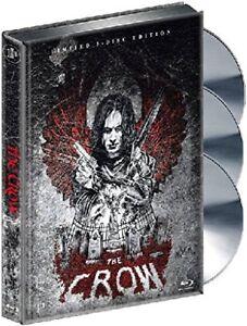 The Crow -David Patrick Kelly-Mediabook Limited 3 Disc Edition NEW B-Ray Regi. B