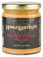 (Case of 12) Haus Barhyte Spicy Red Jalapeno Mustard