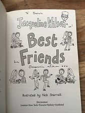 Best Friends, Signed By Jacqueline Wilson.1st/1st( To Sarah)