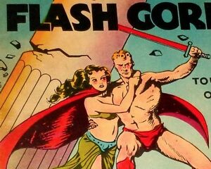 FLASH GORDON Illustrated Pop-Up Hardcover Collectible, One Owner Original—1935