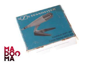 1 x SENNHEISER MZT 421 Metall-Tischfuss für MD421 Vintage Mikrofon MD +Case #B