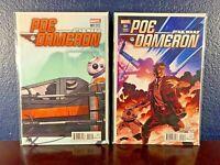 STAR WARS Comic Lot POE DAMERON #1 Hastings Variant & NAKAYAMA COVER Set 1st NM+