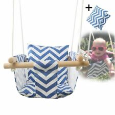Swing Set Kids Tree Outdoor Seat Play Toy Toys Baby Rocking Chair w/ Cushion!