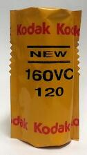 KODAK PROFESSIONAL 160VC COLOR 120 PRINT/NEGATIVE PORTA FILM! C-41 160 ISO