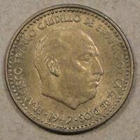 Spain 1947(53) Peseta Unc
