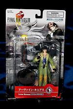 "Irvine Kinneas Final Fantasy VIII FF8 Figure 6"" Bandai Squaresoft Rare"