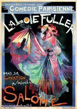 French France Pariesienne Comedie Salome' Vintage Advertisement Art Poster Print
