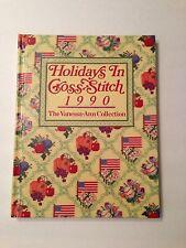 Holidays In Cross Stitch Vanessa Ann Collection Patterns Hardbound Book