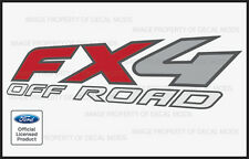 2008 Ford F250 FX4 OffRoad Decals Stickers - F Truck Super Duty Off Road Bed
