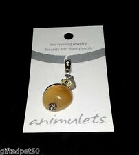 Honey Jade Animulet ~ Fine Healing Jewelry for Pets