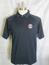 Antigua Minnesota Twins MLB Revel Navy Polo Shirt L Brand New With Tags
