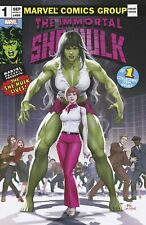 Immortal She-Hulk 1 Inhyuk Lee Homage Classic Trade Dress Logo Variant Hot!